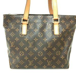 Auth Louis Vuitton Cabas Piano Tote Bag #7900L36